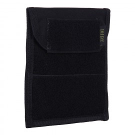 Molle Flat  Admin Pouch Black