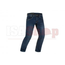 Blue Denim Tactical Jeans Washed