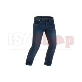 Blue Denim Tactical Jeans Washed