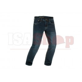 Blue Denim Tactical Jeans Washed Midnight