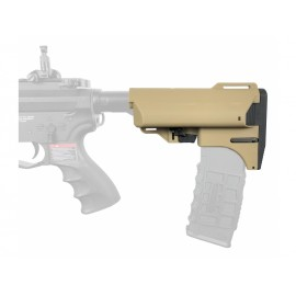 Slong Retractable Magazine Butt Stock (Tan)