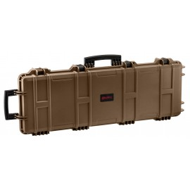 NP Large Hard Case (Wave Foam) - Tan
