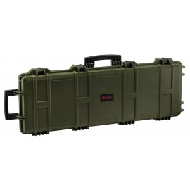 NP Large Hard Case (Wave Foam) - Green