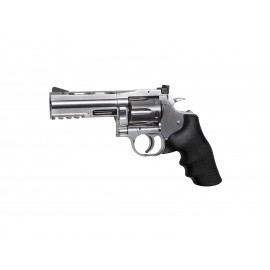 "Dan Wesson 715 4"" CO2 Powered Airsoft Revolver - Silver"
