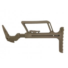 T&D 17 Series Collapsible Stock Tan