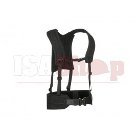 4-Point H-Harness Black