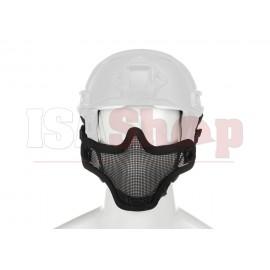 Steel Half Face Mask FAST Version Black