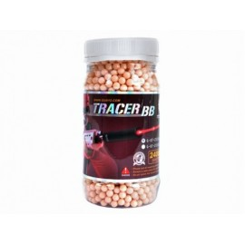 G&G Competition Grade Tracer 0.20g BB's Red (2400 - Bottle)