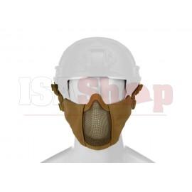 Mk.II Steel Half Face Mask FAST Version Tan