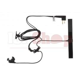 Bone Conduction Headset Motorola 2-Pin Connector Black