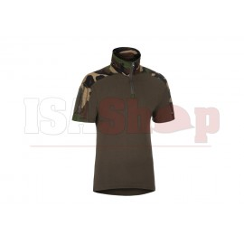Combat Shirt Short Sleeve Woodland