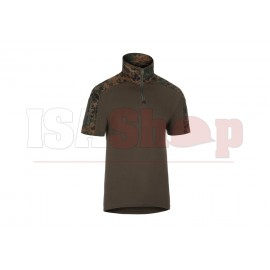 Combat Shirt Short Sleeve MARPAT Woodland