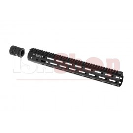 380mm M-LOK Handguard Set Black