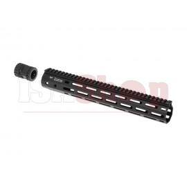 345mm M-LOK Handguard Set Black