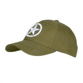 Baseball Cap Allied Star 3D OD
