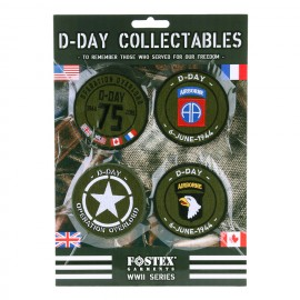 D-Day Patch Collectables 7Pcs