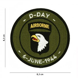 D-Day 101st Airborne Patch OD