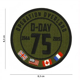 D-Day 75th Anniversary Patch OD