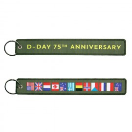 D-Day Keychain 75th Anniversary OD