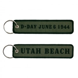 D-Day Utah Beach Keychain OD