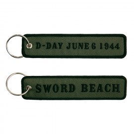 D-Day Sword Beach Keychain OD