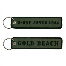 D-Day Gold Beach Keychain OD