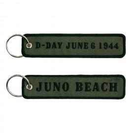 D-Day Juno Beach Keychain OD