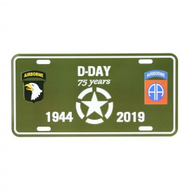 D-Day D-Day Airborne Nummerbord