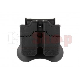 Double Mag Pouch for WE / KJW / KWA / TM 1911 Black