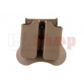 Double Mag Pouch for P226 / M9 / CZ P-09 Dark Earth
