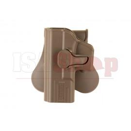 Paddle Holster for G19 / ICS BLE-XAE Left Hand Dark Earth