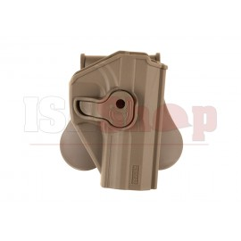 Paddle Holster for KWA USP / USP Compact Dark Earth