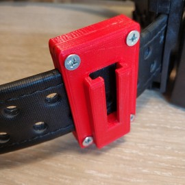 Guga Ribas Style Belt Adapter (40) Red