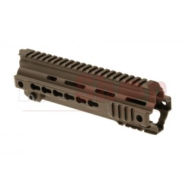HK416 9 Inch Rail System Keymod Dark Earth