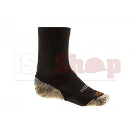 Merino Crew Sock Black