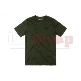 UA Sportstyle Left Chest Tee Artillery Green