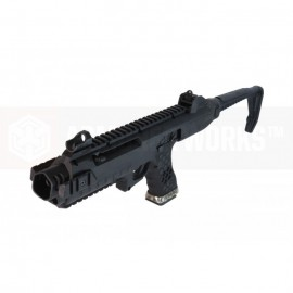 Pistol with Tactical Carbine Kit - VX Series Black