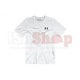 UA Sportstyle Left Chest Tee White