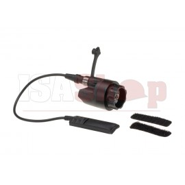 Dual Switch Assembly for Weaponlights Black