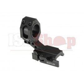 Auto Lock Cantilever 25.4 / 30mm Tactical QD Scope Mount Black