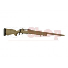 M24 SWS Bolt-Action Sniper Rifle Fluted Barrel Tan