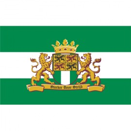 Vlag Rotterdam Met Leeuw