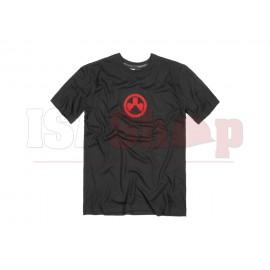 Fine Cotton Icon Logo T-Shirt Black