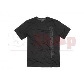 Fine Cotton Vert Logo T-Shirt Black