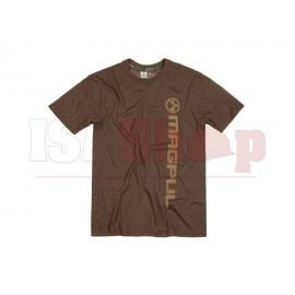 Fine Cotton Vert Logo T-Shirt Dark Brown