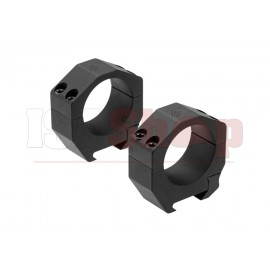 Precision Matched Ring Set 34 mm 1.00 Inch Black