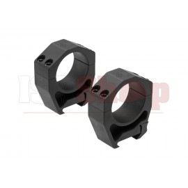 Precision Matched Ring Set 34 mm 1.26 Inch Black