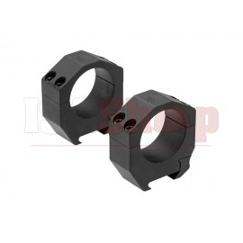Precision Matched Ring Set 34 mm 1.1 Inch Black