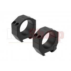 Precision Matched Ring Set 35 mm 1.00 Inch Black