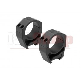 Precision Matched Ring Set 35 mm 1.26 Inch Black